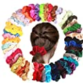 Shonlinen 12 Pcs Velvet Hair Scrunchies,Soft Hair Ties Elastic Scrunchies Hair Bands for Women, Girls