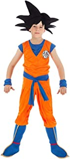Chaks Disfraz Goku Dragon Ball Z niño 9 a 10 años