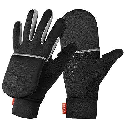 Upgraded Touchscreen Running Gloves - Lightweight & Windproof Glove Mittens