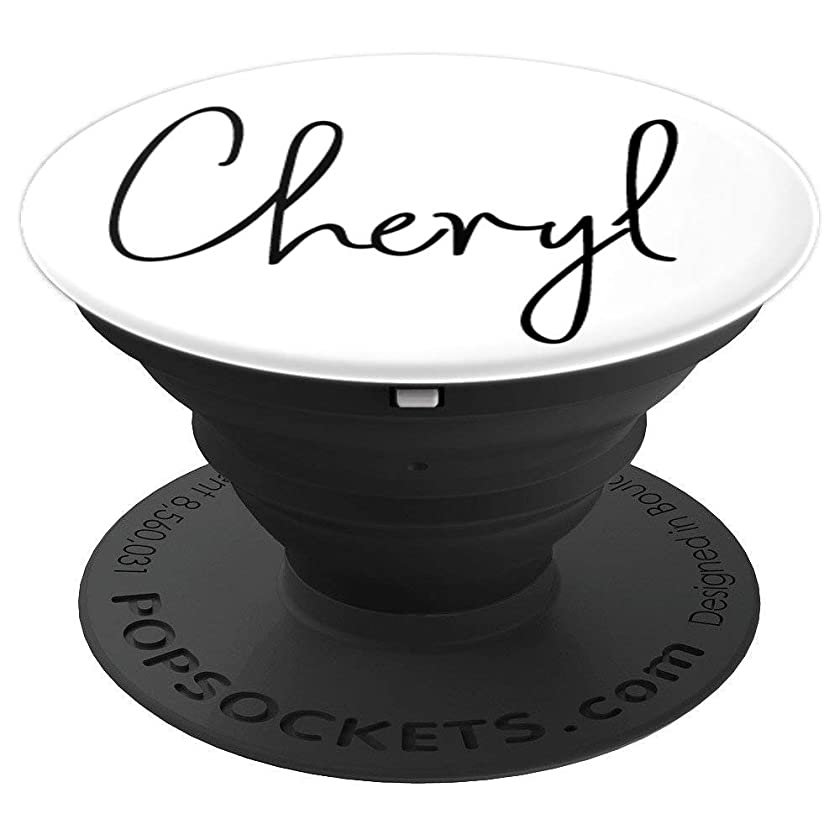 Cheryl Name Custom Girl name White - Cheryl - PopSockets Grip and Stand for Phones and Tablets