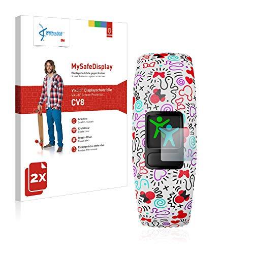 2X Bildschirmschutzfolie CV8 von 3M kompatibel mit Garmin Vivofit jr. 2 Schutzfolie Folie