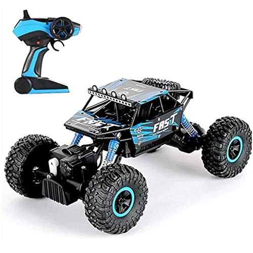 ZCYXQR Remote Control Truck, RC Rock Crawler, RC Climbing Vehicle, 4WD High Speed Rock Crawlers,1:18 Scale 2.4Ghz Racing Car, Buggy