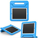 MoKo Funda para iPad 2/3 / 4 - Material EVA Lightweight Kids Shock Proof Protector Cover Case con Manija para Apple iPad 2/3 / 4 9.7 Pulgadas Tableta, Azul