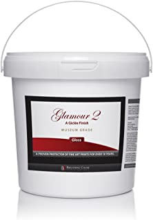 Glamour 2 is an Archival Print Varnish with a Water-Based Gloss Finish, Doesn't Yellow, is Quick-Drying, Provides UV Protection, Perfect for Preserving Photographic Prints from Inkjet Printers - 1 Gal