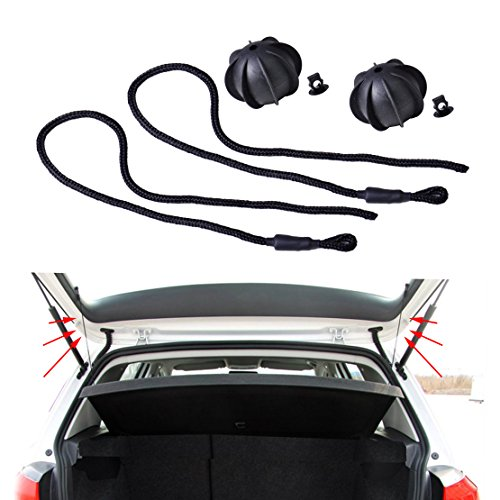 beler 2stk Interieur Paket Hinten Regal String Tonneau Cover Strap Cord 1K6863447A (Fulfilled by Amazon)