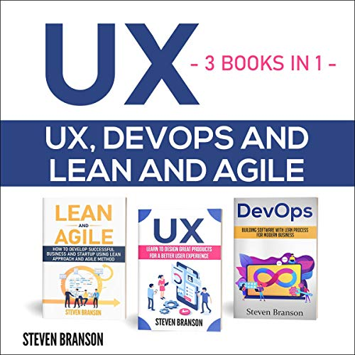 UX Audiobook By Steven Branson cover art