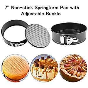 12 Pieces Accessories Set Compatible with Instant Pot 6,8 Qt, Steamer Basket, Springform Pan, Egg Bites Mold, Egg Steamer Rack, Steamer Trivet, Kitchen Tongs, Oven Mitts, 3 Cheat Sheet Magnets