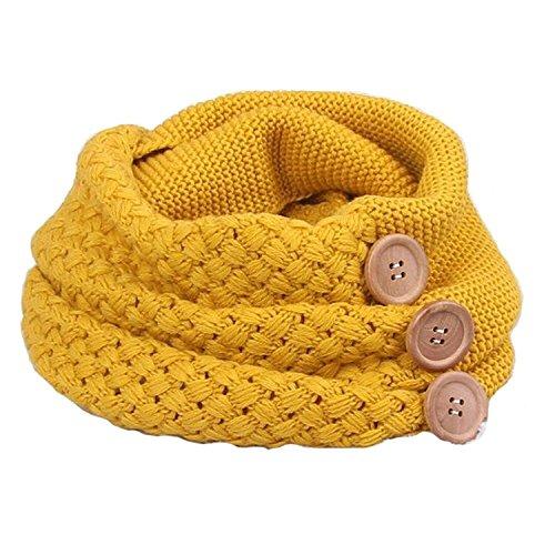 heekpek Bufanda Mujere Invierno Cálido Cable Knit Cuello de la Capucha del Mantón de la Bufanda