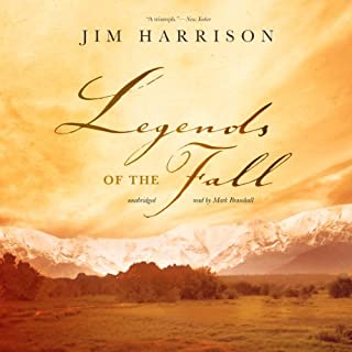 Legends of the Fall audiobook cover art