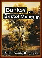 ポスター バンクシー basnksy bristol Hanging Klansman 2009 額装品 ウッドハイグレードフレーム(ナチュラル)