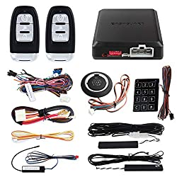 6 best aftermarket car alarm systems 2018 remote start keyless the easyguard ec002 is slightly different from the average car alarm system because the kit comes with a keyboard entry system as well as a button to start freerunsca Gallery