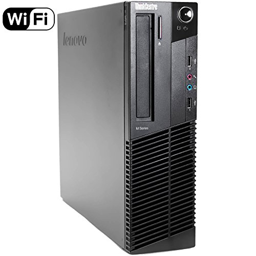 2017 Lenovo ThinkCentre M82 SFF Business Desktop Computer, Intel Quad-Core i5-3470 Processor 3.2GHz (up to 3.6GHz), 12GB RAM, 2TB HDD, DVD ROM, Windows 10 Professional (Renewed)