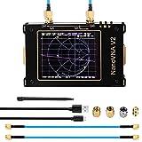 Analizador de red vectorial 3G, 50 KHz-3 GHz S-A-A-2 NanoVNA V2 Analizador de antena de onda corta HF VHF UHF Filte Duplexer con pantalla táctil LCD de 3,2 pulgadas