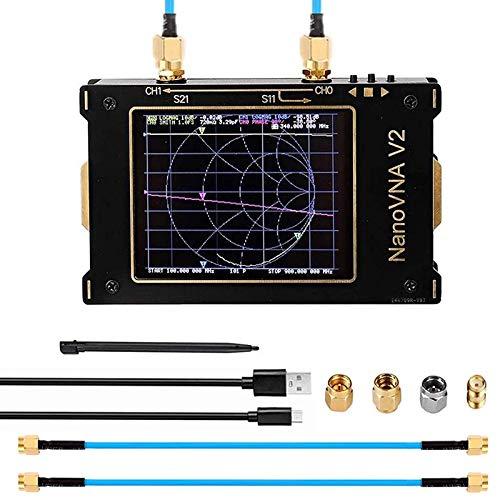 Analizador de red vectorial 3G, 50 KHz-3 GHz S-A-A-2 NanoVNA V2 Analizador...