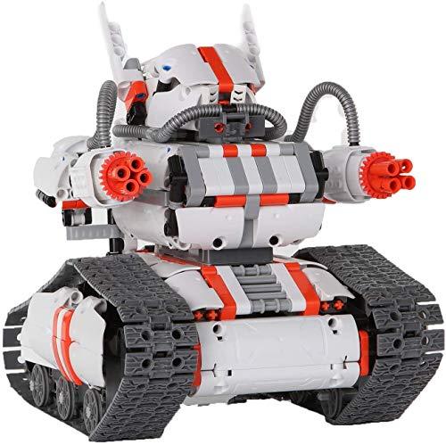 LiQi Robot Builder Rover Robot controlado por la aplicación (más de 1,000 componentes + 2 Motores)