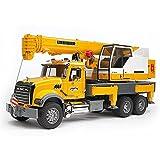 Bruder 02818 Mack Granite Liebherr Crane Truck
