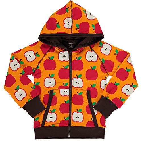 Maxomorra Cardigan Hood Classic Apple, Kaputzenjacke, Kinderjacke, Bio, GOTS 98/104
