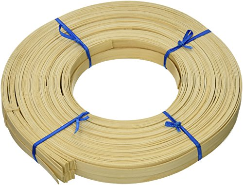 Any Width 1 Pound Coil of Flat Reed 3//4 Wide, Natural Natural or Smoked Color 1//4 3//8 1//2 5//8 3//4