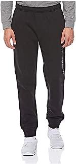 Champion-212080-Rib Cuff Pants For Men - Black L