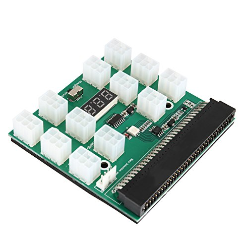 Breakout Board, Starall Bergbau Netzteil 1200 W/750 W Breakout Board Für HP PSU GPU Mining ethereum ZEC zcash ETH