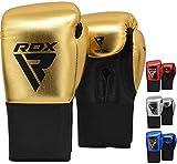 RDX Guantoni Boxe Bambini per Allenamento e Muay Thai | Metalic Pelle Junior Combattimento...