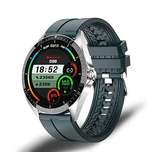 LJMG Smart Watch, GW16T, Sport SmartWatch Tasa del corazón, Monitor de suspensión, IP67 Impermeable, Pulsera Inteligente de iOS Android con versión Global,D