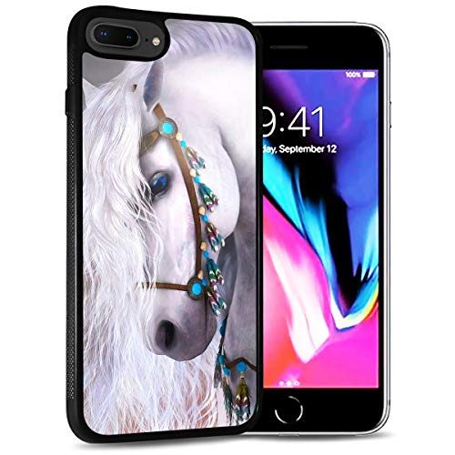 for iPhone 6, iPhone 6S, Durable Protective Soft Back Case Phone Cover, HOT12320 White Horse Princess 12320