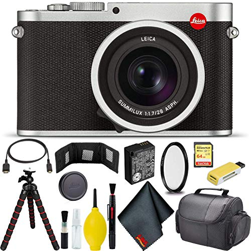 Buy Cheap Leica Q (Typ 116) Digital Camera (Silver Anodized) Pro Bundle