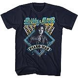 American Classics Billy Joel Billy Joel Navy Adult T-Shirt Tee
