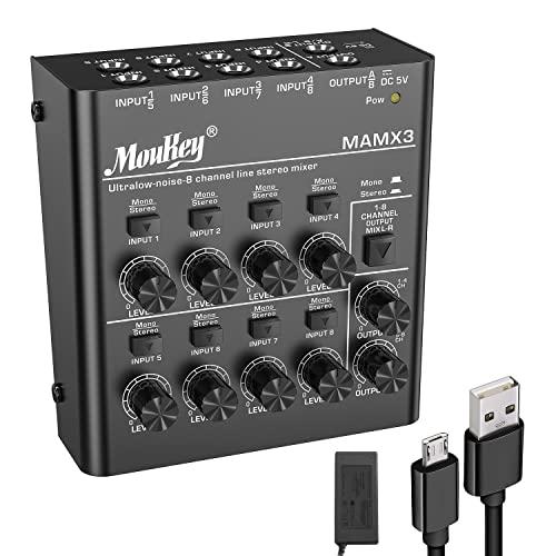 Moukey -   8 Kanal Dj Mixer