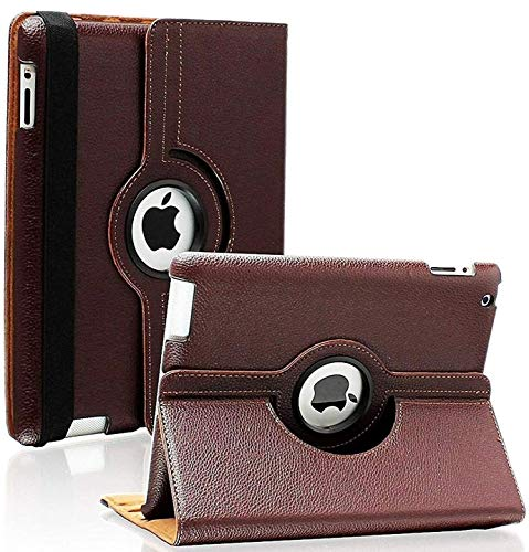 iPad 2/3/4 Case - 360 Degree Rotating Stand Smart...