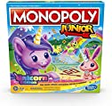 Monopoly Junior: Unicorn Edition Board Game for 2-4 Players, Magical-Themed Indoor Game for Kids Ages 5 and Up (Amazon...