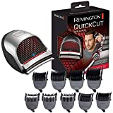 Remington Quick Cut Hair Clippers with 9 Comb Lengths Curved Blade for Rapid