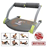 Home Gym AB Equipment Macchina Crunch Compatto Multifunzione Addominali pettorali bicipiti Gambe Glutei Cosce Cellulite Home Fitness