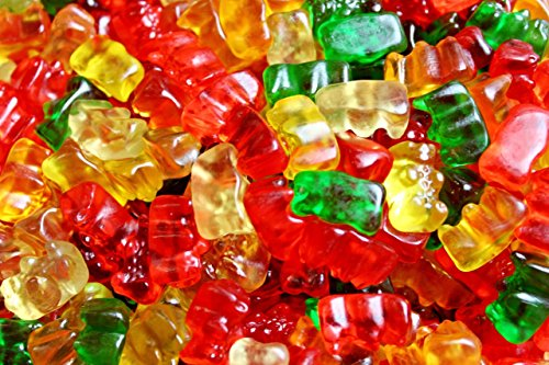 Haribo Gummi Candy Gold-Bears, 2.5-Pound Bulk Bag