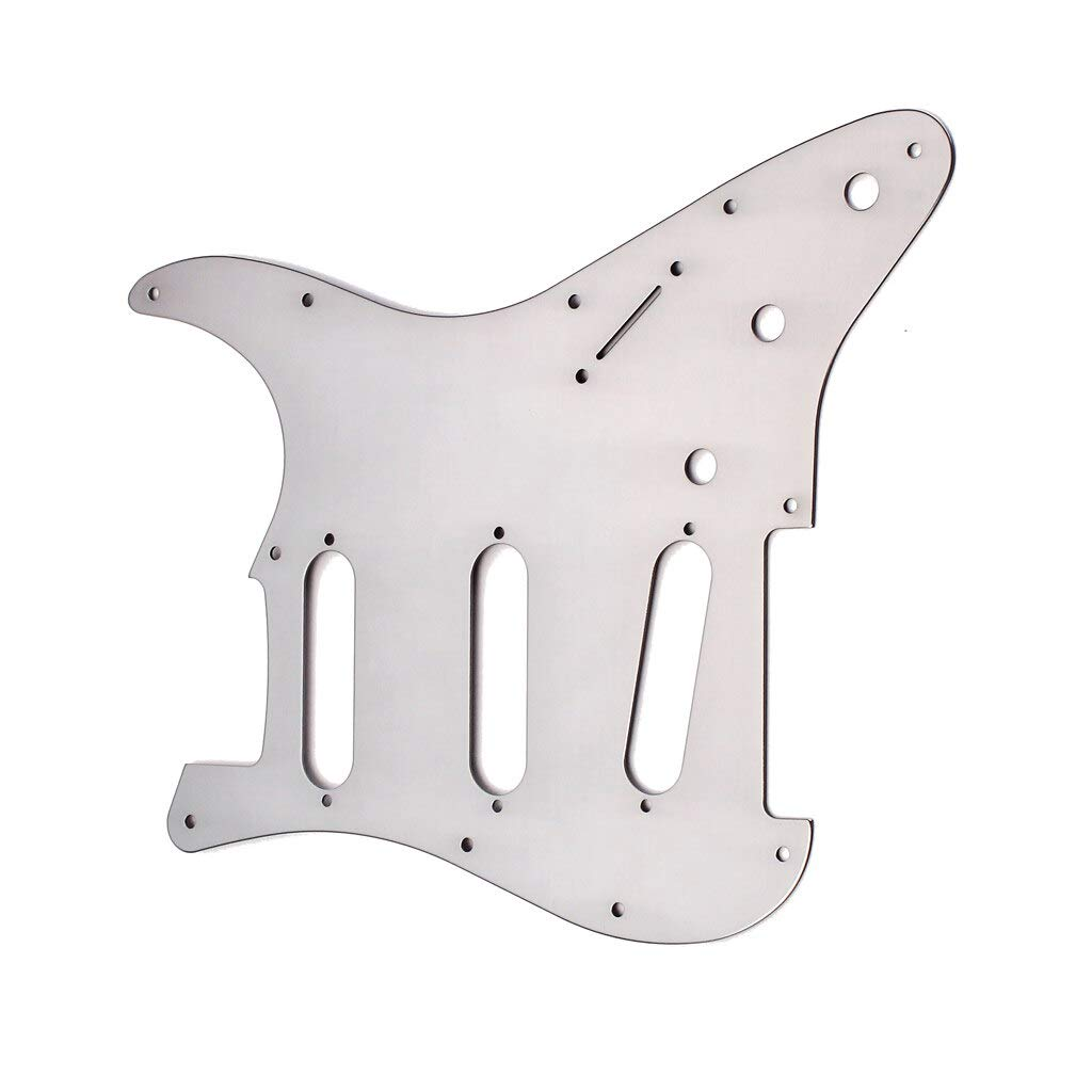 All stores are sold Guitar Parts Aluminum Alloy Pickguard Super Special SALE held Plate Picku Scratch
