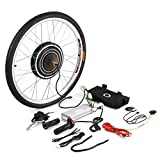 Uniqueheart Practical 48V 1000W Electric Bicycle E-Bike 26inch Rear Wheel Conversion Kit Cycling Motor Set Replacement Tool
