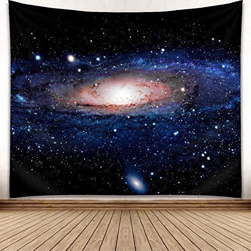 WIMAHA Wandteppiche Hochwertige Wandbehang Tapisserie Milchstraße Wandtuch Wanddekor(200 * 150cm)