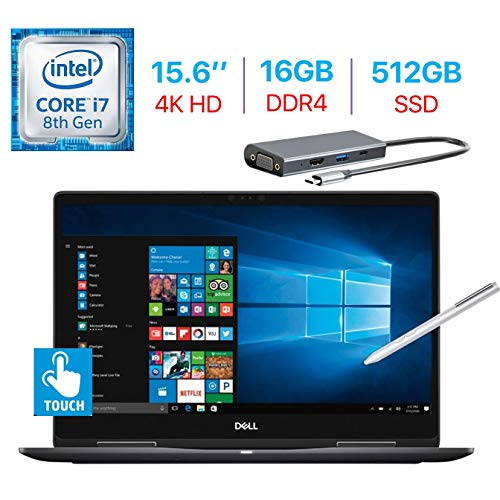Compare Dell 15.6 2-in-1 4K HD Touch vs other laptops