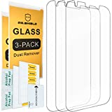 [3-PACK] - Mr.Shield For ZTE Warp 7 [Tempered Glass] Screen Protector [0.3mm Ultra Thin 9H Hardness 2.5D Round Edge] with Lifetime Replacement