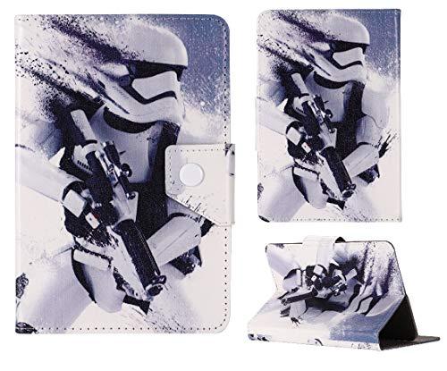 Funda para tablet de 7 pulgadas 8 8 pulgadas 9.7 9.7 pulgadas 10.1 pulgadas para niños ~ All Star Wars Covers (Universal 9.7 pulgadas (9.7 pulgadas), Stormtrooper Star Wars)