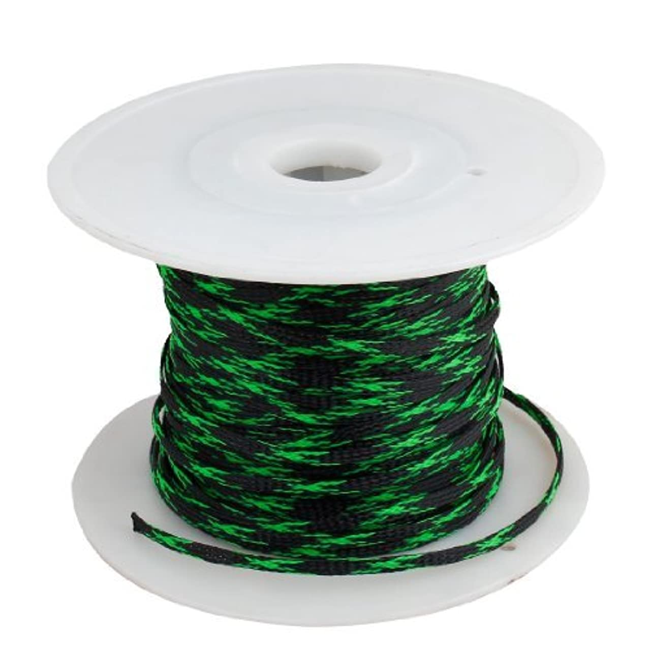 こどもの日格納目立つカーオーディオ用DealMux拡張可能な編組PETスリーブケーブル織りカバープロテクター100メートル