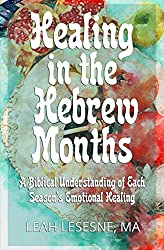 multiple fruit, blue background, healing in the hebrew months book cover