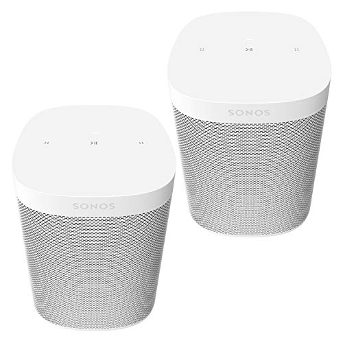 Two Room Set Sonos One SL - The powerful microphone-free speaker for music and more - White