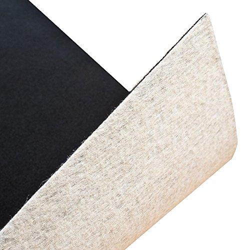 Floori® Premium Nadelfilz Teppich, GUT-Siegel, Emissions- und geruchsfrei, wasserabweisend, 1200 g/qm | Größe wählbar (300x200cm)