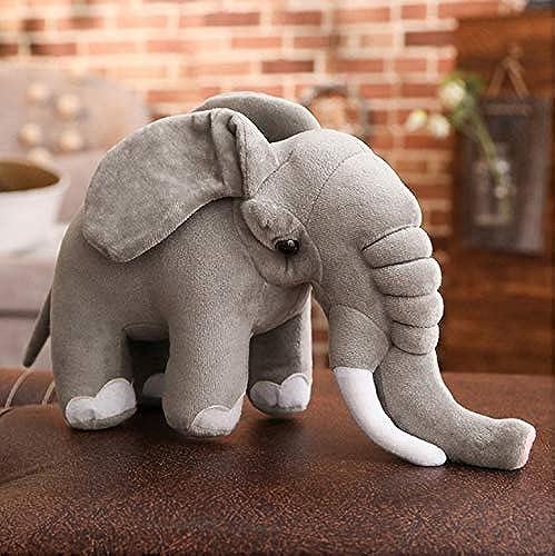 servicio considerado Ycmjh Elefante de Peluche de Juguete gris de de de Dibujos Animados de Peluche Animal Boy Girl Regalo 60cm  opciones a bajo precio