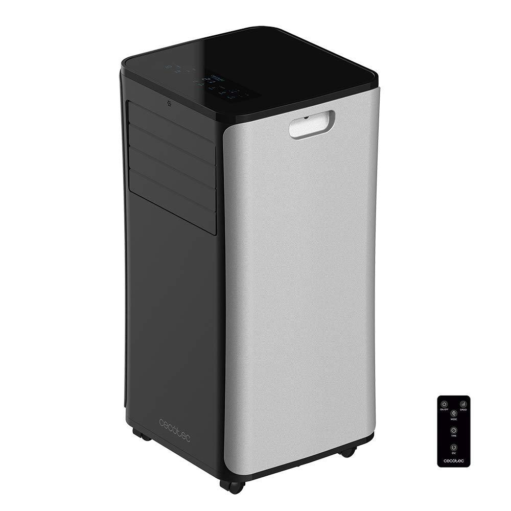 Cecotec Aire Acondicionado Portatil EnergySilence Clima 9050. 2270 Frigoras, 3 Funciones(Fro, Ventilador, Deshumidificador), Caudal 350m_/h, Programable 24h, Mando ...