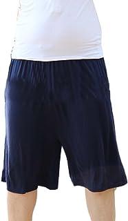 GladiolusA Mens Lounge Shorts Pyjama Bottoms Plus Size Pjs Nightwear Pants Trunks Trousers Home Sleep Shorts Loose Athleti...