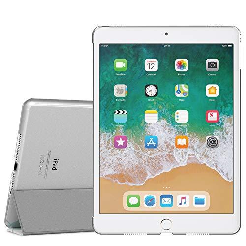 MoKo Schützhülle Kompatibel mit iPad Pro 9.7 - Auto Schlaf/Aufwach Intelligente Hülle mit Translucent Rückseite Standfunktion Cover - Papageienbaum