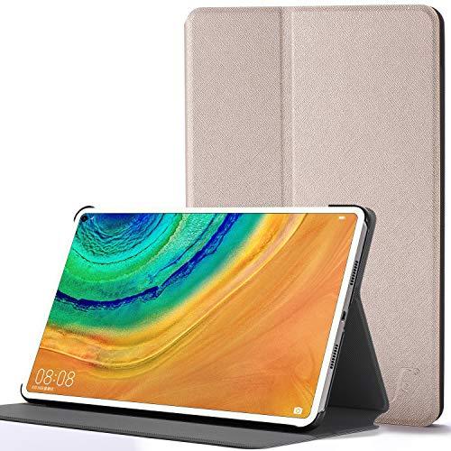 FC Hülle für Huawei MatePad Pro 10.8 - Schutz Huawei MatePad Pro 10.8 2019 Hülle Ständer - Gold - Dünn, Auto Schlaf/Wach, Huawei MatePad Pro 10.8 Zoll Hülle, Tasche